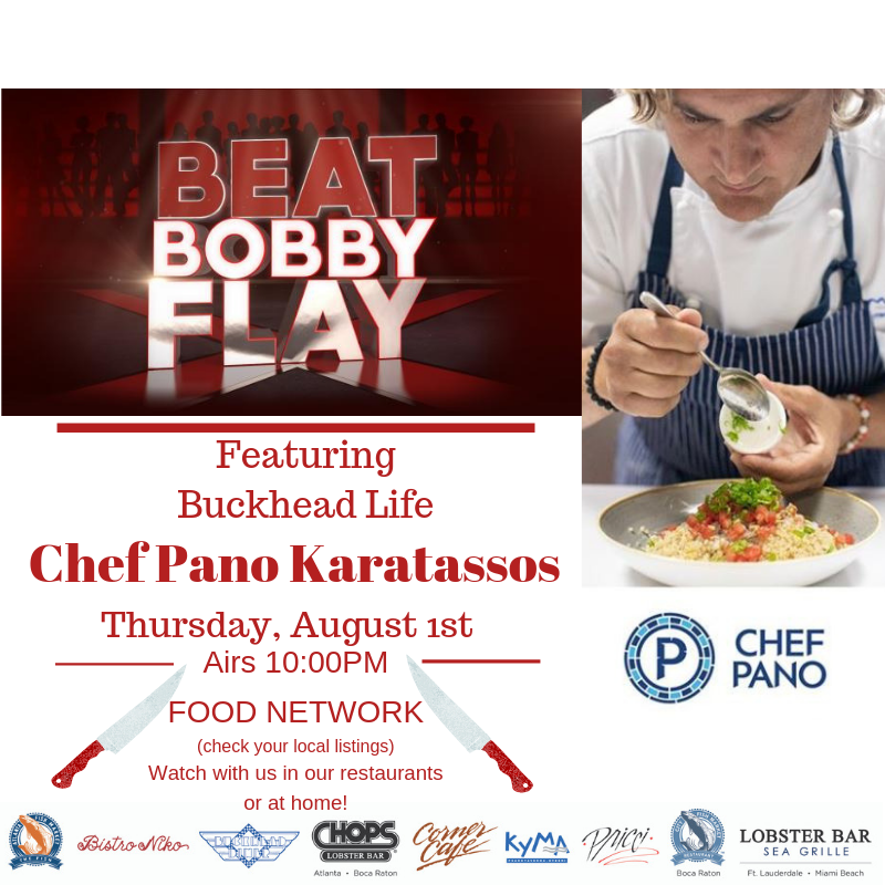 Beat Bobby Flay with Chef Pano