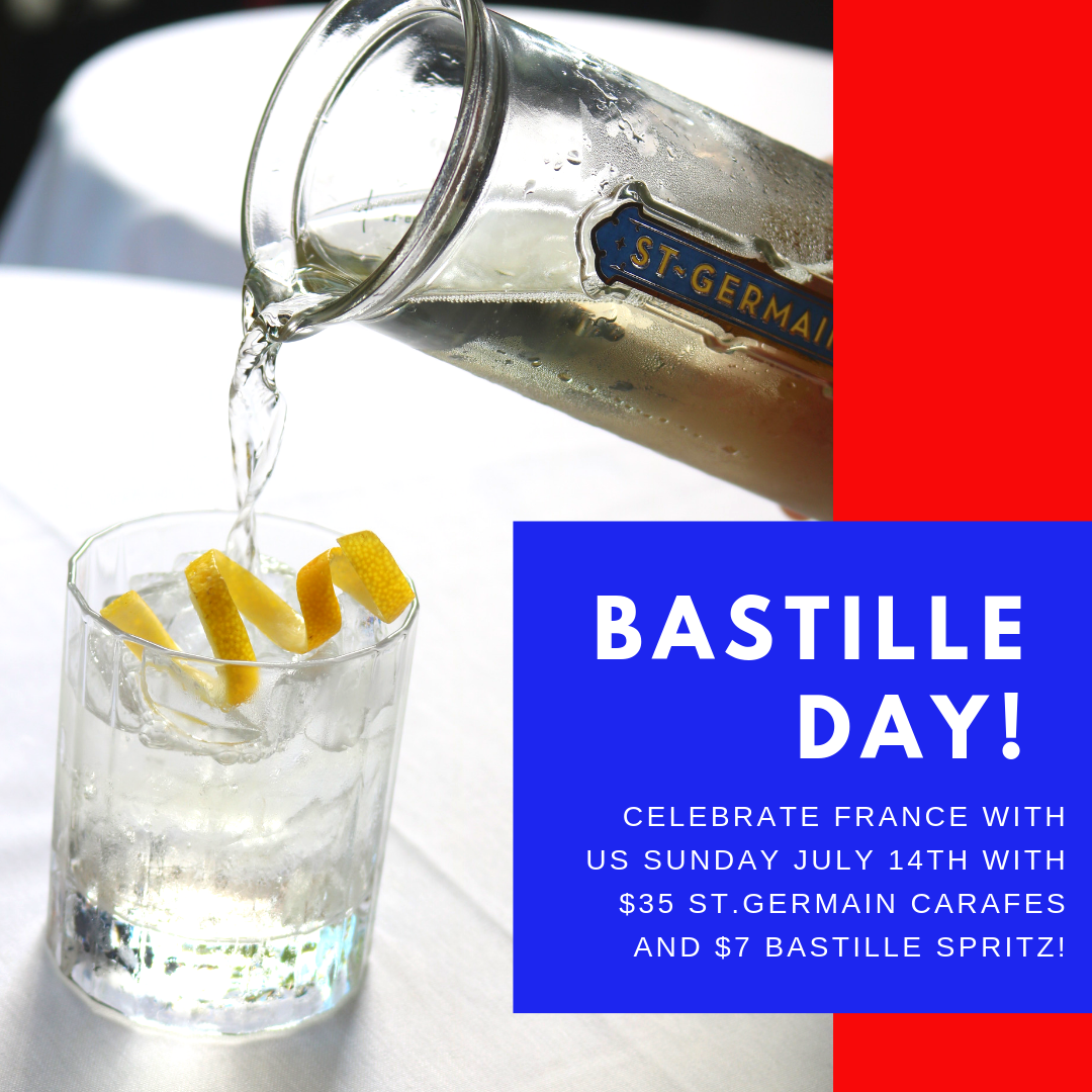 Celebrate Bastille Day on July 14th at Bistro Niko