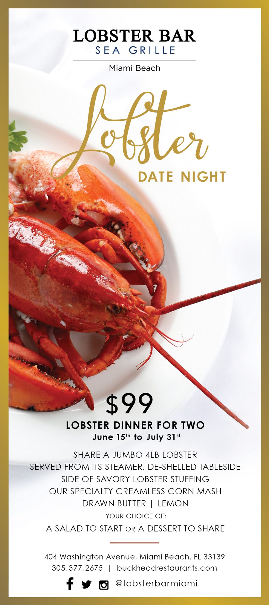 Lobster Date Night